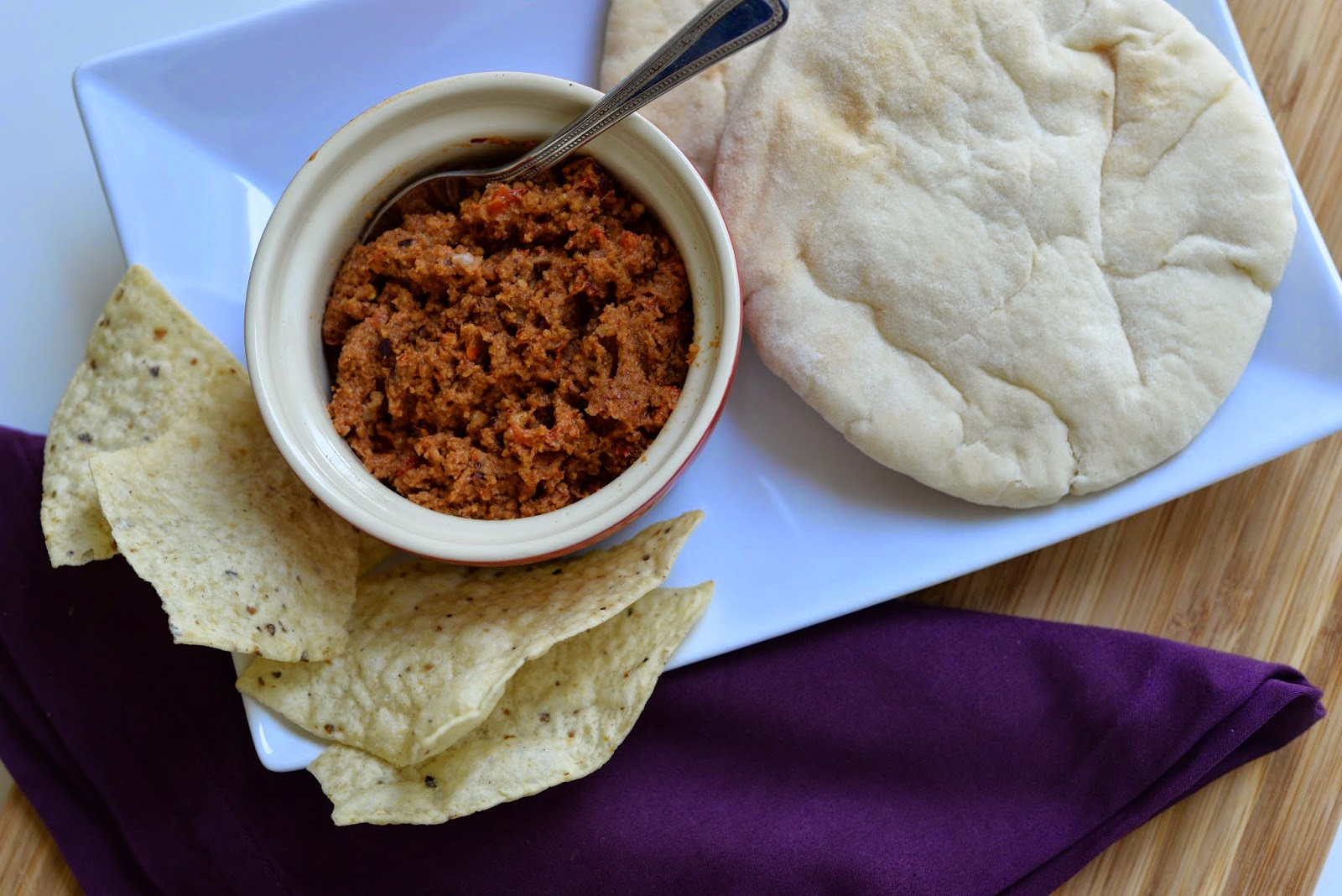 Homemade Muhammara