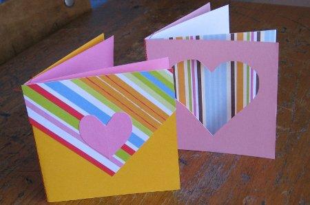 Como hacer tarjetas para San Valentin