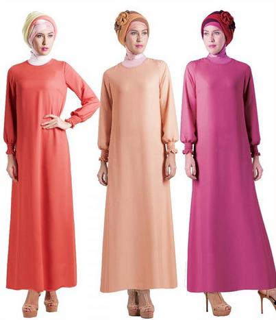 Contoh Baju Muslim Gamis Syar'i