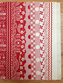 Mama Said Sew by Sweetwater for Moda Red and Cream