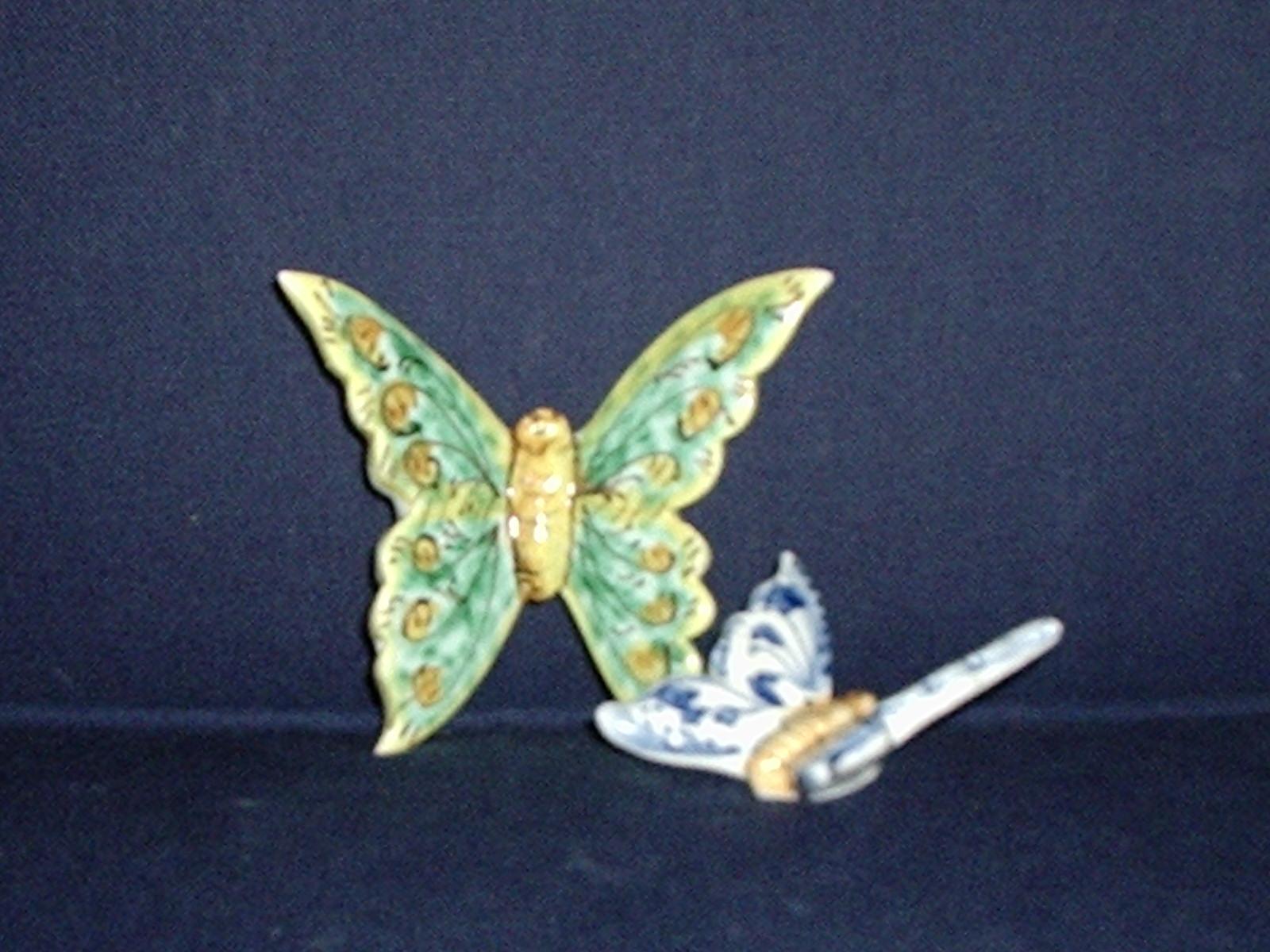 Ceramiche e dintorni: farfalle