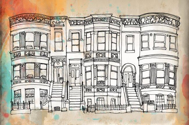 Apartment Building Window Drawing On Pinterest Brooklyn
