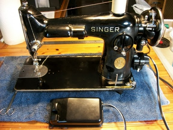 Perfect stitch the amazing singer 201 for Where can i drop off used motor oil