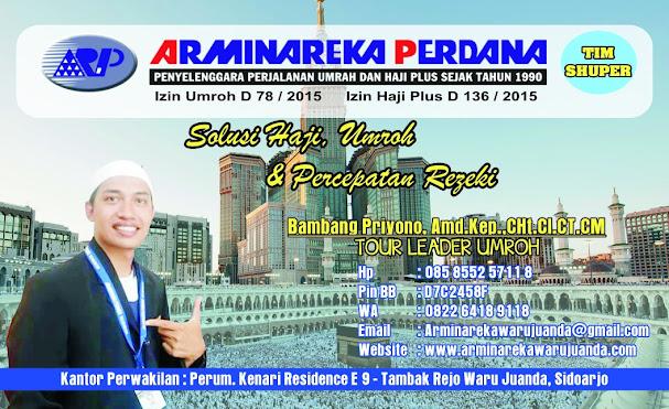 TOUR LEADER UMRAH PT. ARMINAREKA PERDANA