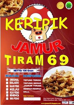 KERIPIK JAMUR TIRAM 69