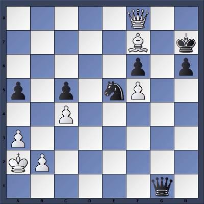 Les Blancs jouent et gagnent en 3 coups - Niveau Facile