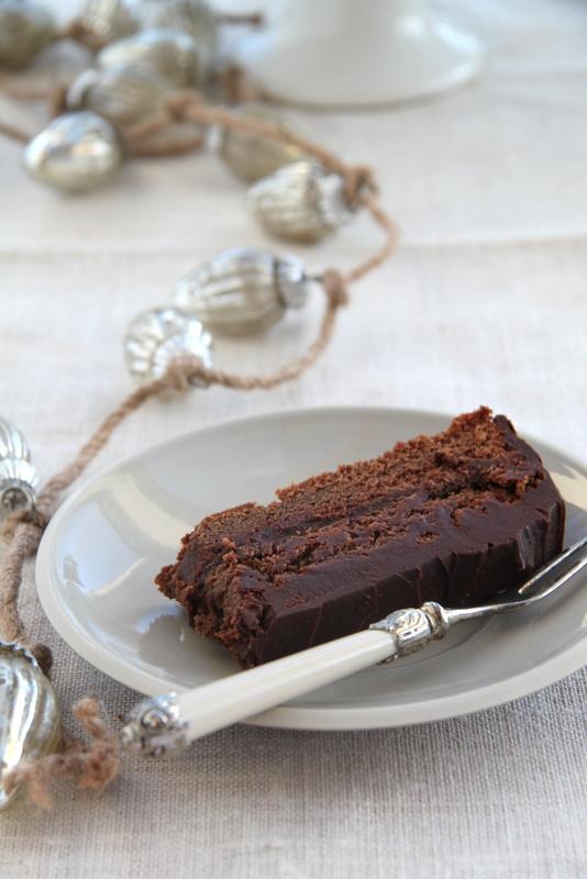 Ciasto czekoladowe z rumem