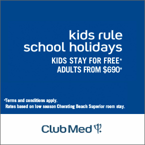 Club Med School Holiday Promotios