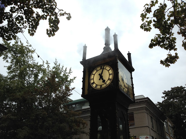 [vancouver] steamclock