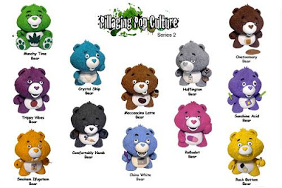 """Pillaging Pop Culture"" Series 2: Custom Care Bears Blind Box Series by Task One - Don't Care Bears Checklist"