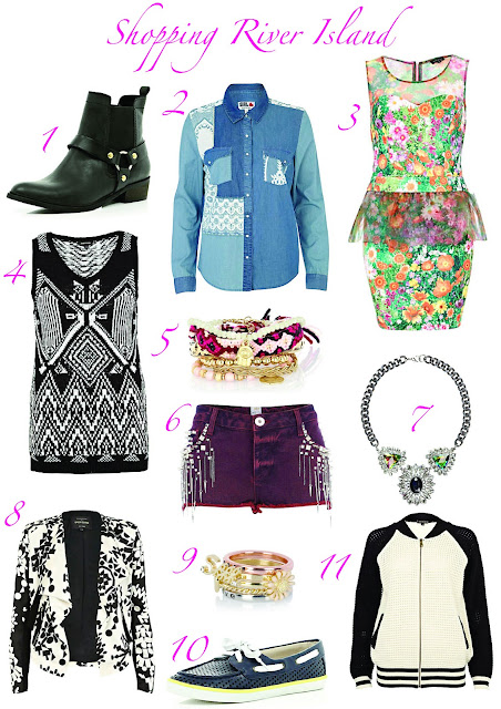River Island Blog Emily Fashion And Beauty Mode Boots Chemise Robe Peplum Collier Necklace Short Veste Teddy Ring Bague