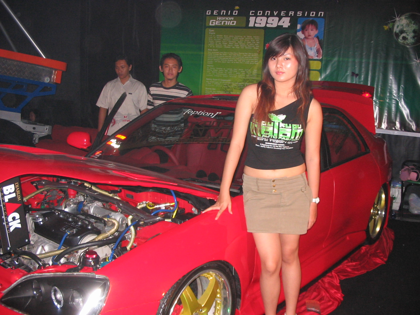 Modifikasi Motor Amp Mobil Car Interior With Audio Sound