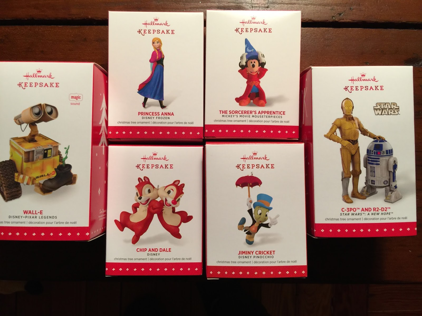 Disney Christmas Ornaments: 2015 Edition