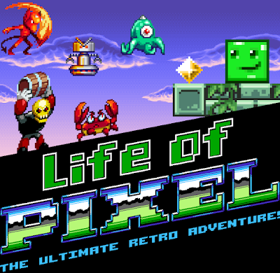 Press Start - Life of Pixel
