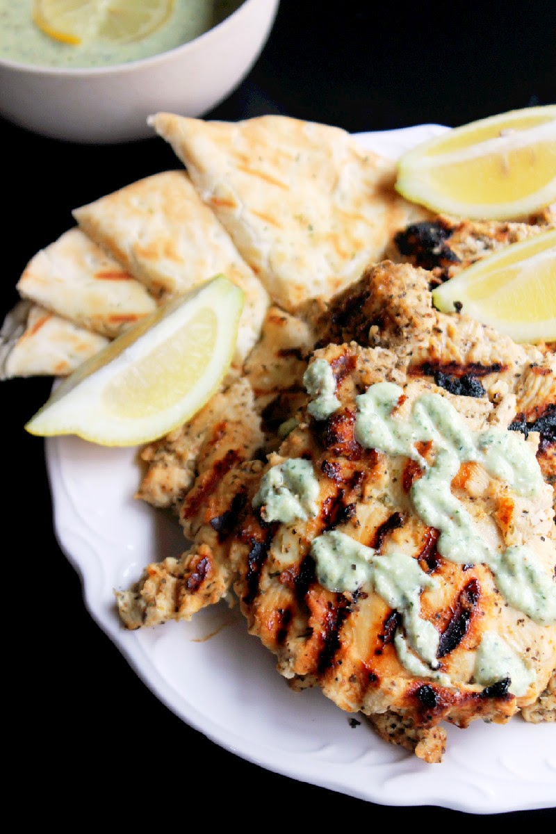 Creole Contessa: Grilled Greek Chicken, Family Style with ...