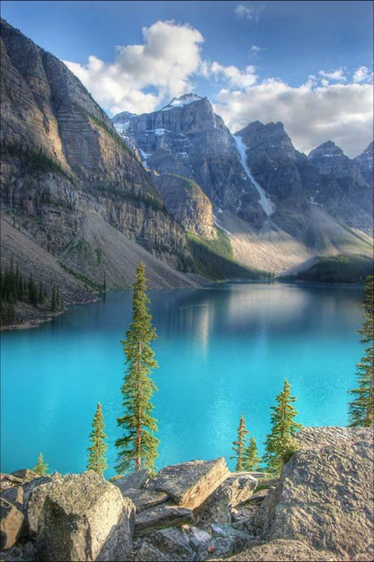 Moraine-Lake, Alberta-Canada
