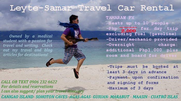Leyte-Samar Travel Car Rental