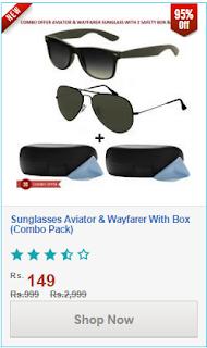 http://www.shopclues.com/combo-offer-2-sunglasses-aviator-and-wayfarer-with-box-21.html