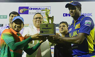 Bangladesh beat Sri Lanka in final ODI