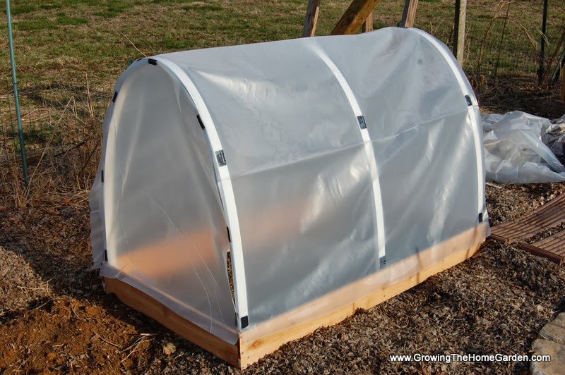 Build A Mini Hoop House To Get An Early Start On The