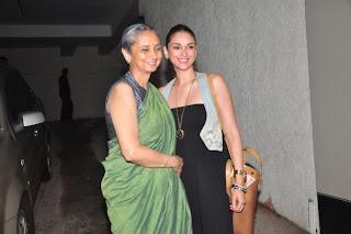 Aditi Roy Hundai at special screening of 'Ship Of Theseus'