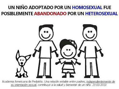 Nuestra Iglesia apoya la adopcin por parte de parejas del mismo sexo