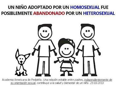 Nuestra Iglesia apoya la adopción por parte de parejas del mismo sexo