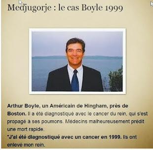 Medjugorje :1999 le cas Artie Boyle