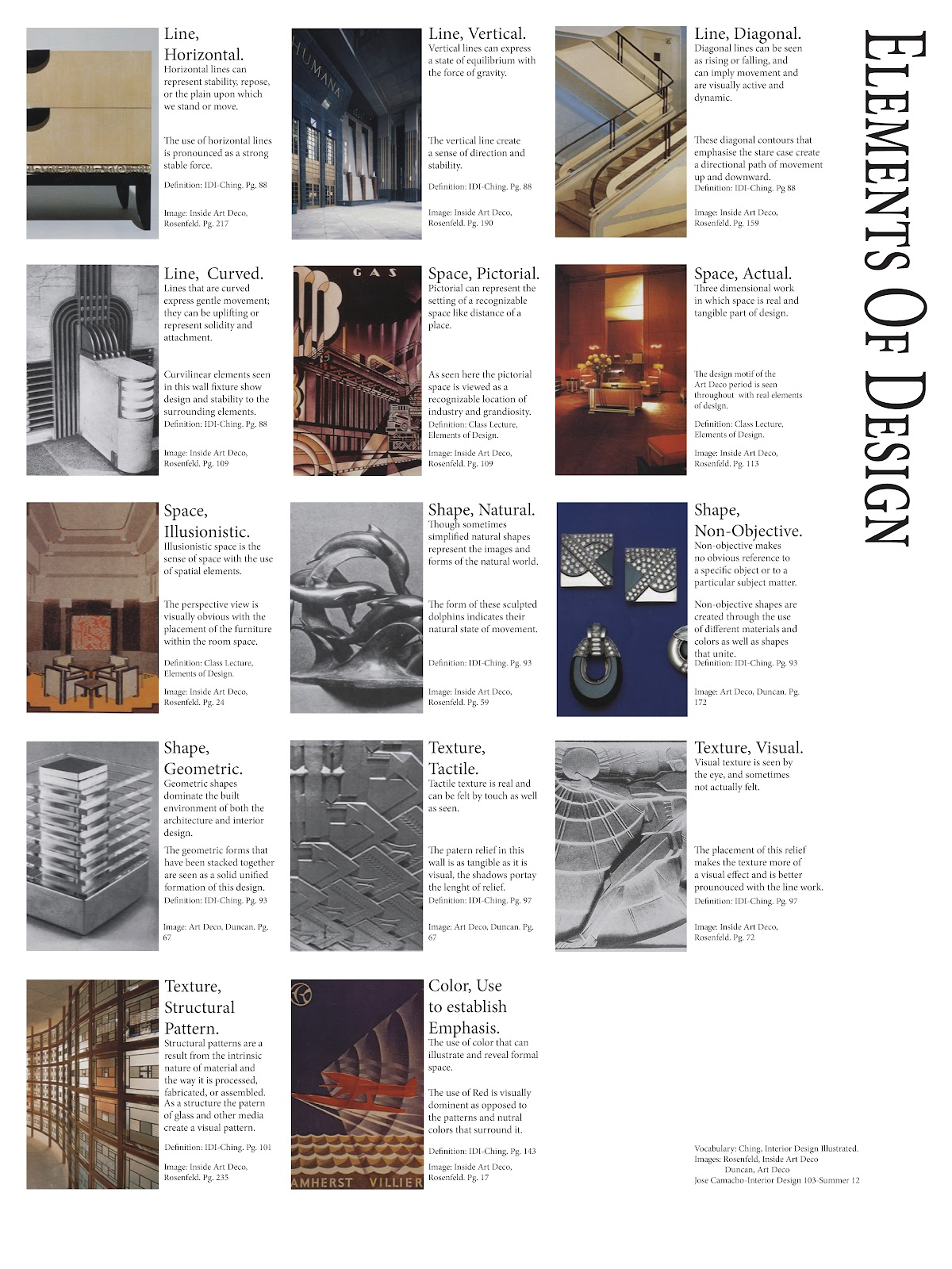 Principles Of Elements And Design : Jose c elements and principles of design