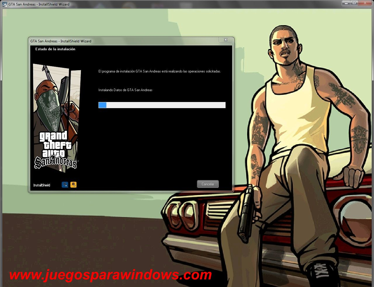 Grand Theft Auto San Andreas PC Screenshot