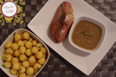 Magret canard poivre