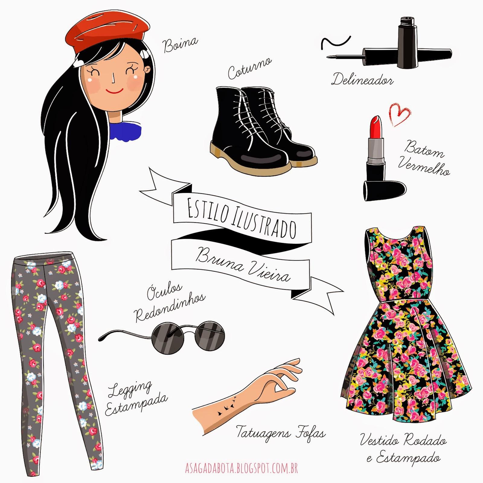 ilustração Bruna Vieria, desenho, ilustração personalizada, ilustradora Kênia Lopes,