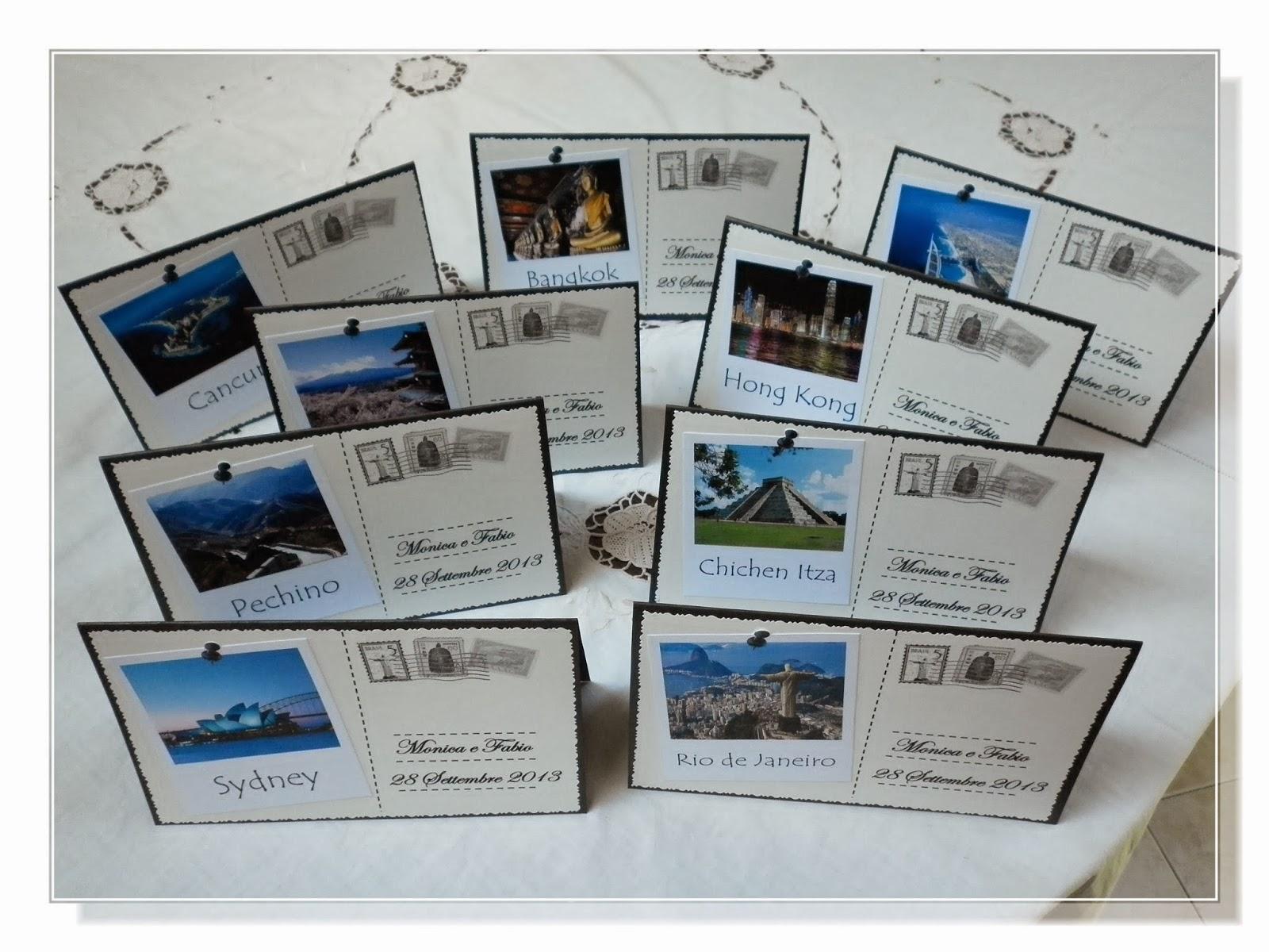 Matrimonio Tema Viaggio Tavoli : I lavori di stefania tableau mariage matrimonio a tema