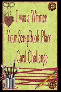 Your Scrapbook Place Winner