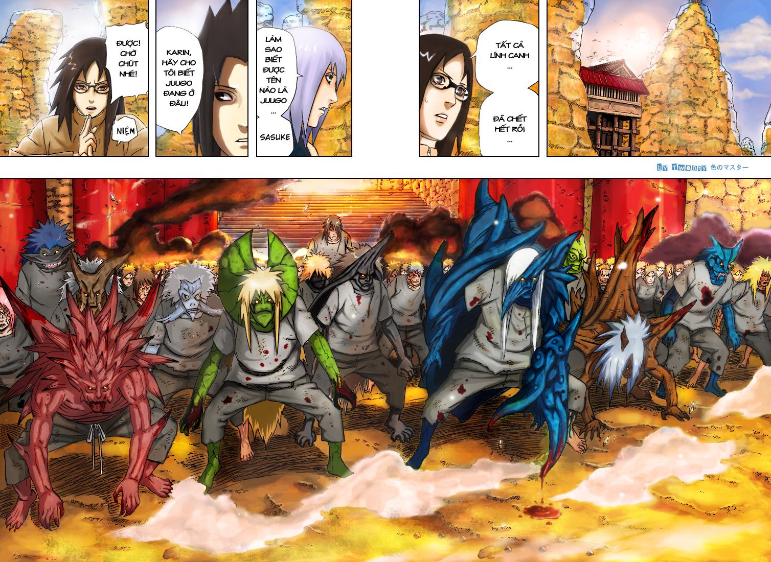 Naruto chap 350.Color Trang 7 - Mangak.info