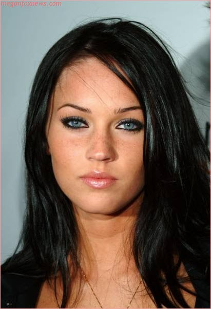 megan fox makeup how to. megan fox without makeup pics.