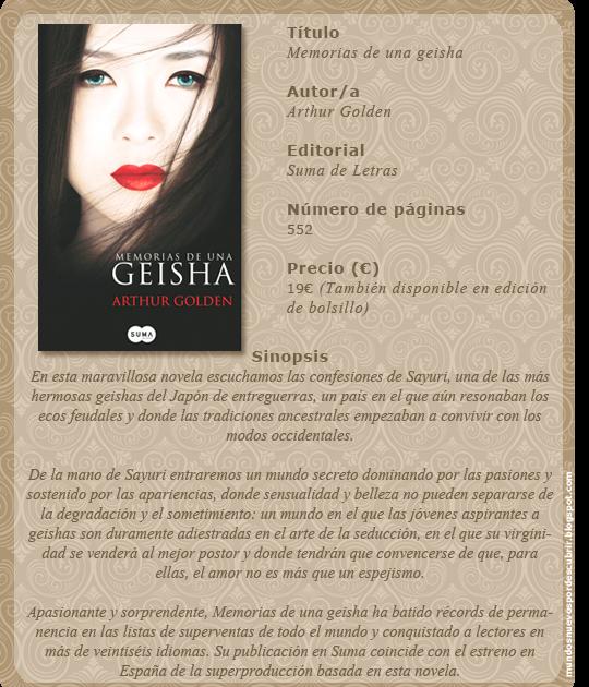 Tema: Memorias de una geisha - foro DVD