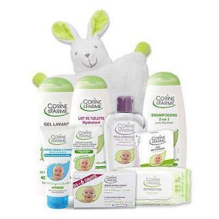 6 mois de soins bébé à gagner + 50 gels lavants Corine de Farme