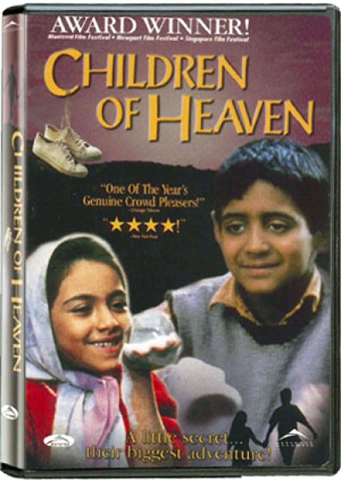 Children of Heaven Blu-ray Dvd Case