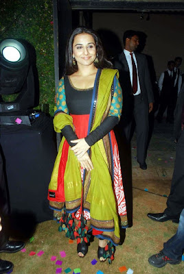 Vidya Balan at UTV Autocar India Awards 2011
