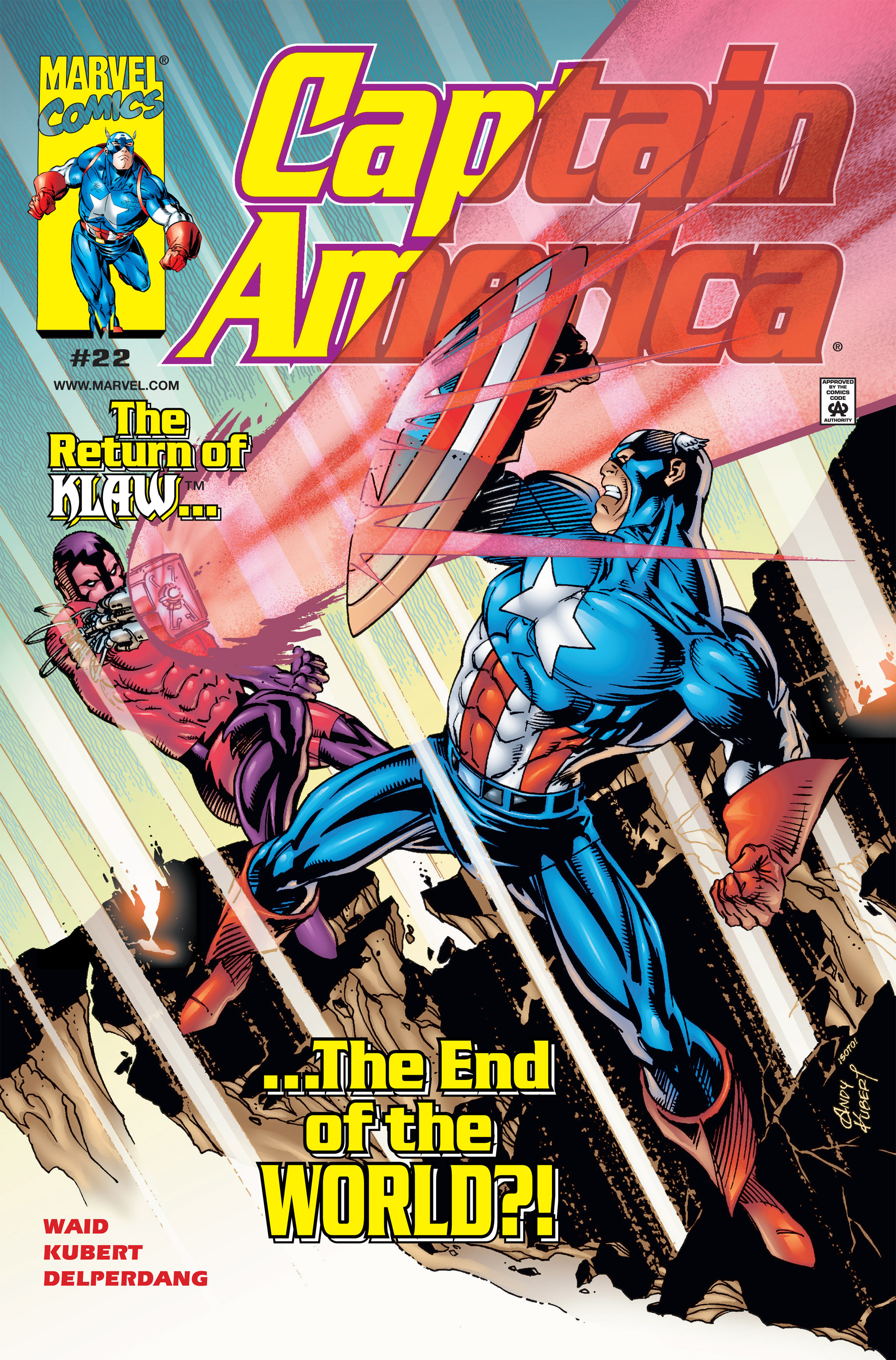Captain America (1998) 22 Page 1