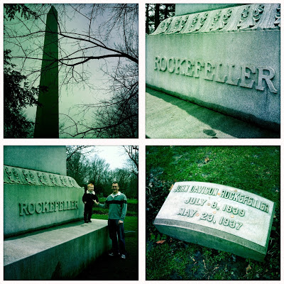 Resting Place of John D. Rockefeller