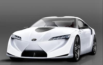 Mobil Keren Toyota FT HS Hybrid