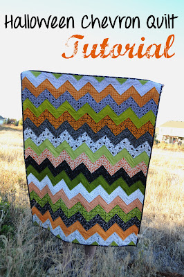 DIY Quilted Chevron Duvet Cover Tutorial