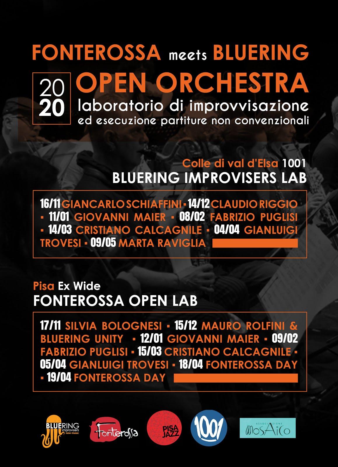 Fonterossa meets Bluering - Laboratori di improvvisazione 2019/20