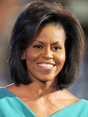 K Michelle Short Hairstyles Michelle+Obama+Hairstyle%2C+Michelle+Obama+Hair+Color%2C+Michelle ...