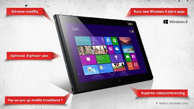 tablet2 lenovo windows 8