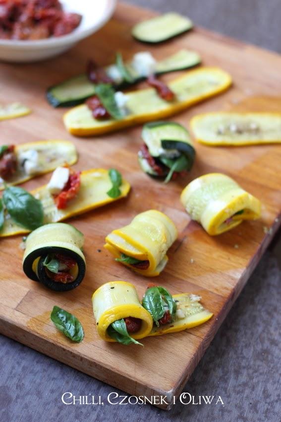 involtini di zucchini