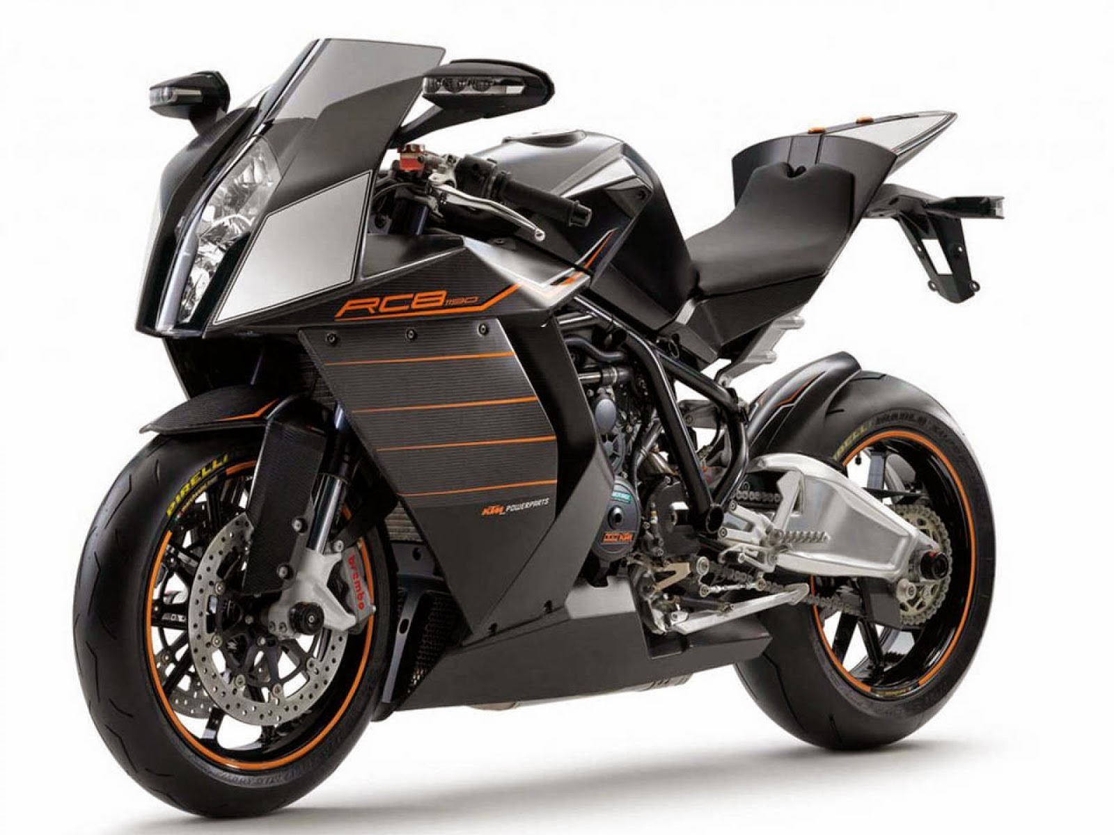 KTM 1190 RC8 R Black Bikes Hd Wallppaers for Desktop