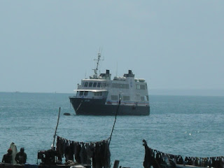 ferry that capsized off the coast of Zanzibar